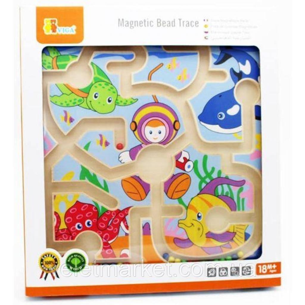 Развивающая игрушка Viga Toys Лабиринт Подводный мир (50123)