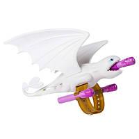 Dreamworks Как приручить дракона 3 Фигурка браслет пускатель дракон Дневная фурия 6052955 Dragons Lightfury Wrist Launcher Role-Play Launcher