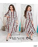 Платье в модный горошек размеры с 50 по 60 , фото 2