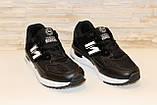 Кроссовки черные Т987, фото 3