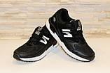 Кроссовки черные Т987, фото 4