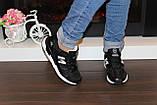Кроссовки черные Т987, фото 5