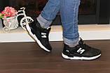Кроссовки черные Т987, фото 6