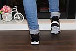 Кроссовки черные Т987, фото 7