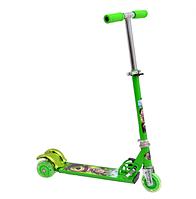 Самокат Profi Trike BB 3-009-1 Маша і Ведмідь Зелений (уцінка)