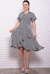 Легкое летнее платье Бланка, в полоску