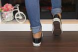 Кеды черные модные Т997, фото 8
