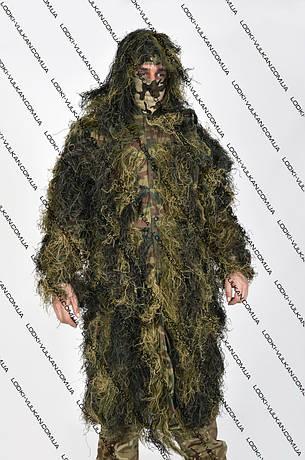 Маскировочный плащ - накидка ''кикимора'' для охотников и рыболовов., фото 2