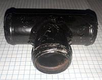 Тройник системы охлаждения Таврия Славута ЗАЗ 1102 1103 1105 Део Деу Сенс Daewoo Sens метал