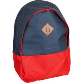 Рюкзак 1 отд. /1 карман LEADER серый/красный 40×27×13 см 10007 /980189    10007/980189