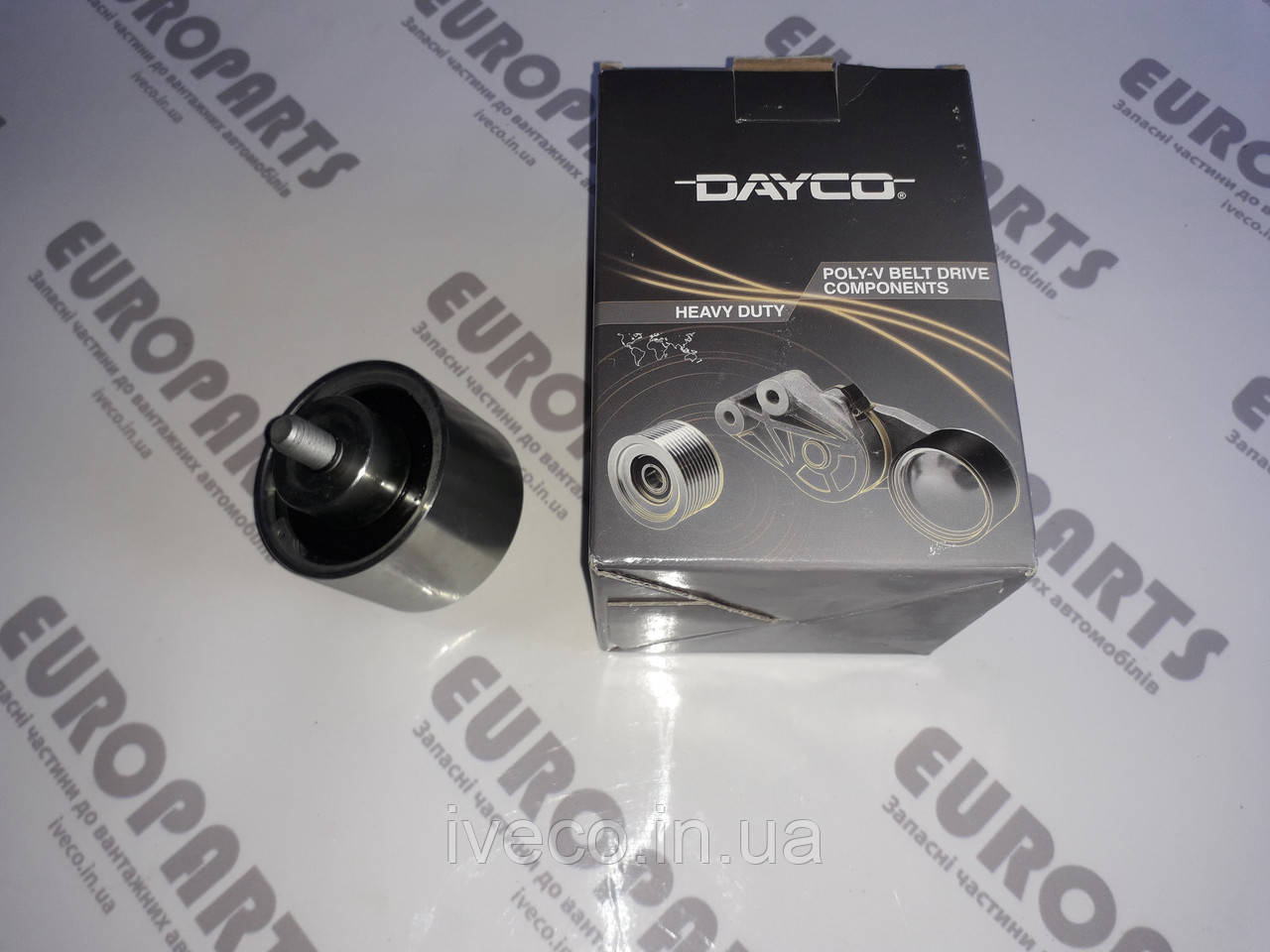 Ролик натяжитель ремня Iveco Trakker Stralis EuroTrakker Astra HD EuroTech Cursor 504006261 500318393 APV1060