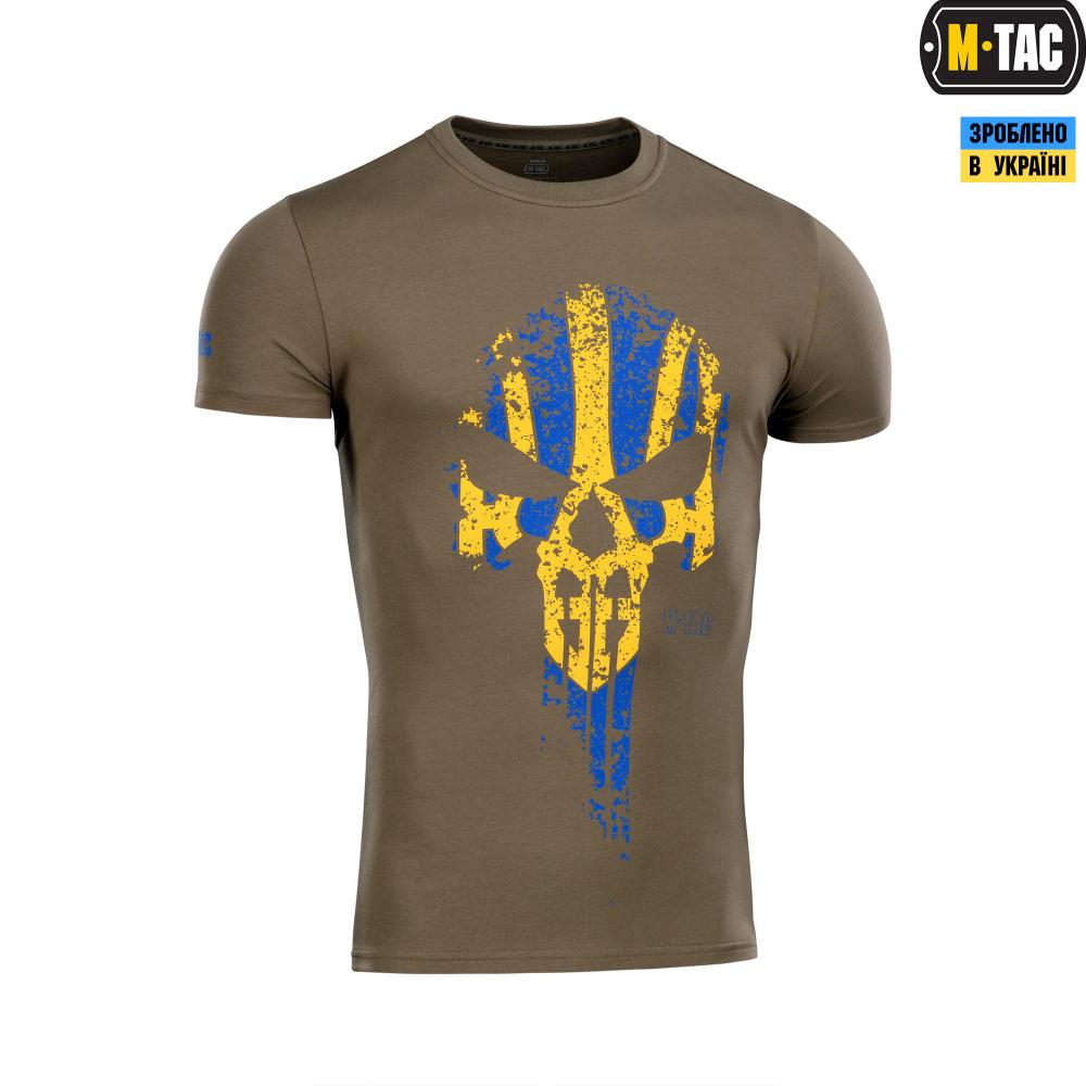 M-Tac футболка Месник Olive/Yellow/Blue L