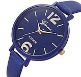 Наручные часы Женева с синим ремешком код 245, фото 2