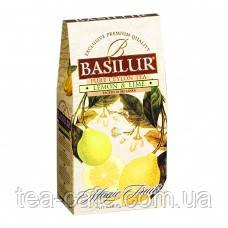 """Чай чорний Basilur колекція Чарівні фрукти """"Лімон та лайм""""  100 гр."""