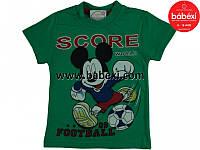Детская одежда из Турции оптом. Футболка  для мальчика р.2,4,6,8 лет.