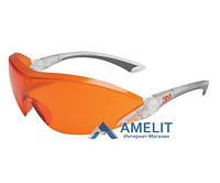 Очки защитные оранжевые №2846 (3М), 1шт.