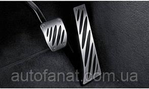 Оригинальные накладки на педали BMW Performance (АКПП) BMW X3 (E83) (35002213212)
