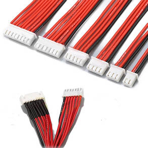 Силиконовый провод кабель Удлинитель баланса для Lipo батареи и зарядного устройства 2S 3Pin 3S 4Pin 4S 5Pin 6S 7Pin 8S 9Pin 2.54XH 30см - 1TopShop, фото 2