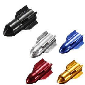 Ракетные шапки в форме велосипеда воздуха колесо шина клапан покрытия - 1TopShop