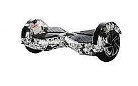 "Гироборд  Smart Balance Wheel 8.0"" (Cамобаланс, Led, Bluetooth, сумка) Черепа"