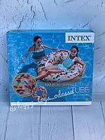 """Надувной круг Intex """"Пончик с присыпкой"""" артикул 56263"""