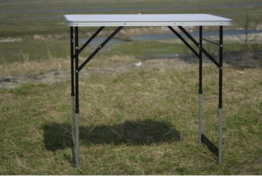 Стіл Tramp 100 х 60 х 73/80/87/94 см. Стол для кемпинга. Туристический стол. Стол складной