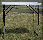 Стіл Tramp 100 х 60 х 73/80/87/94 см. Стол для кемпинга. Туристический стол. Стол складной, фото 2