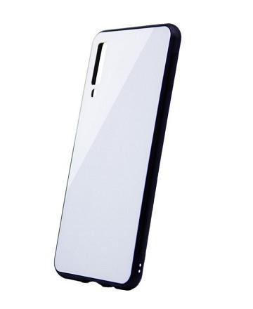 Чехол Intaleo RealGlass для Samsung A750 (A7-2018) White