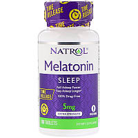Мелатонін Natrol Melatonin Time Release 5 mg 100 Tabs