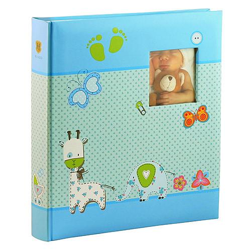 Альбом HENZO 280*305 Babyalbum Baby Moments  blue 98.405.07