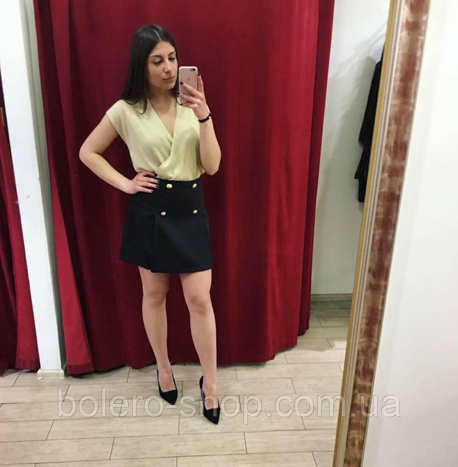 Блуза женская летняя Италия с запахом