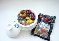 Зеленый чай с фруктами, годжи и хризантемами 50 грамм