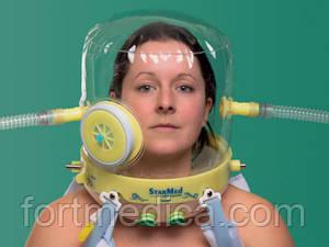 Открываемый шлем для НИВ StarMed CaStar R Up  разные размеры
