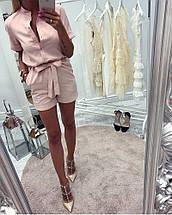 Женский летний комбинезон с шортами sh-004 (разные цвета, 42-52р), фото 2