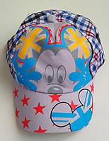Детская летняя кепка для мальчика Мики 4-5лет