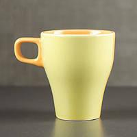 "Кружка 250 мл ""Грация"", жёлто-оранжевая, фото 1"
