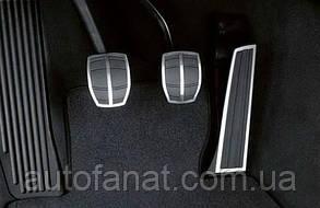Оригинальные накладки на педали BMW X3 (Е83) M Performance с (МКПП) (35000410099)