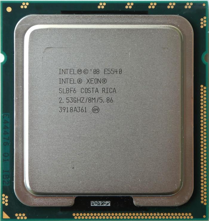 Процессор Intel Xeon E5540 /4(8)/ 2.53-2.8GHz + термопаста 0,5г