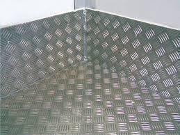 Лист алюминиевый рифленый 4х1500х3000мм (КВИНТЕТ)