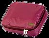 РАСПРОДАЖА Дорожный органайзер для косметики с отстегивающимся кармашком ORGANIZE (винный), фото 5