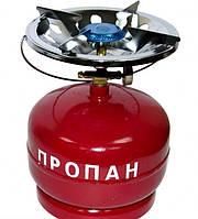 "Плита газовая ""Турист"", баллон 5 л Master Tool 92-0152"