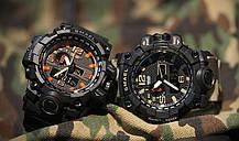 Мужские спортивные часы водостойкие Smael 1545, фото 3