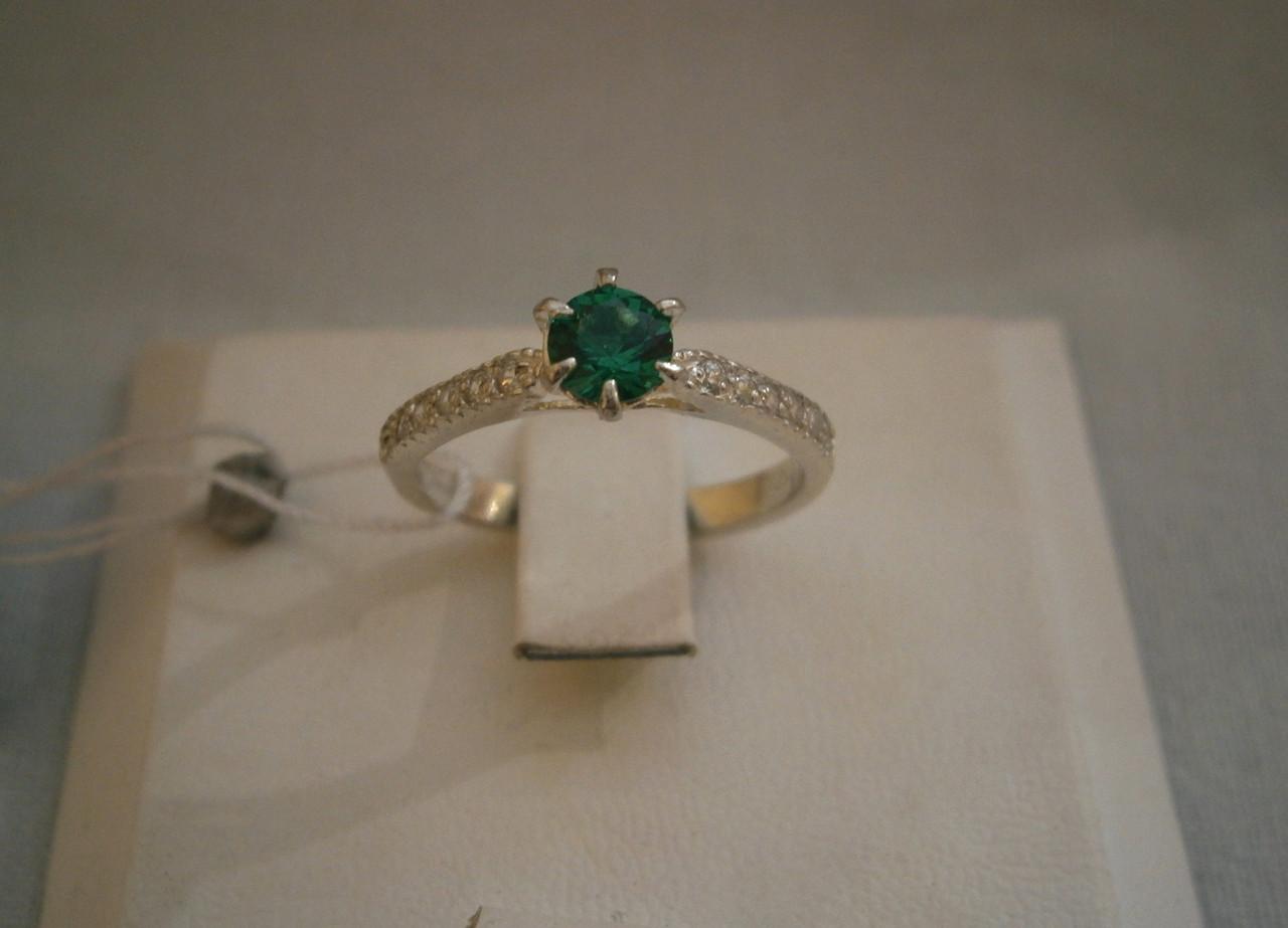 Серебряное  женское кольцо 925 пробы