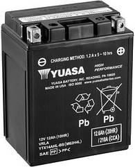 Акумулятор мото Yuasa High Performance MF 12,6 AH/210А YTX14AHL-BS