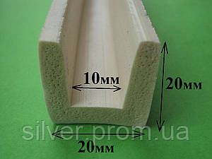 П-образный силиконовый уплотнитель