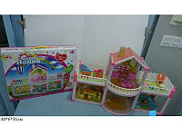 Іграшковий будиночок + меблі для ляльки 957