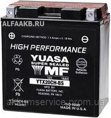 Акумулятор мото Yuasa High Performance MF 18,9 AH/310А УТХ20СН-BS