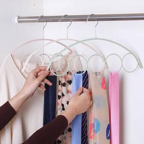 1 Шт. 5 Кольцо Шарф Стойка Пластиковая Ткань Вешалка - 1TopShop