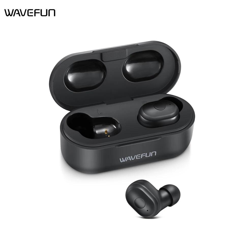 Wavefun  X-Pods 2L TWS Полностью беспроводные раздельные наушники Bluetooth 5.0 гарнитура-наушники