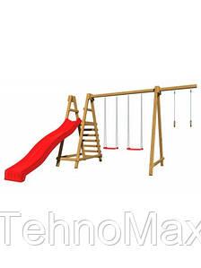 Дитячий дерев'яний майданчик SB-3 luckyStar